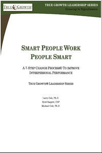 Smart People, Work People Smart by Larry Cole, Ph.D.