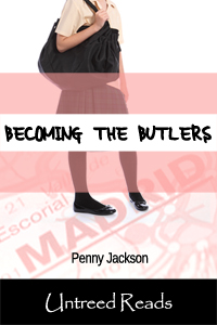 Becoming the Butlers (paperback) by Penny Jackson