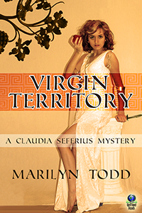 Virgin Territory (A Claudia Seferius Mystery, #2) by Marilyn Todd
