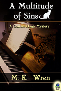 A Multitude of Sins (A Conan Flagg Mystery, #2) by M. K. Wren