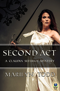Second Act (A Claudia Seferius Mystery, #9) by Marilyn Todd