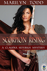 Scorpion Rising (A Claudia Seferius Mystery, #13) by Marilyn Todd